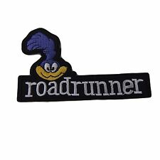 Looney Tunes Roadrunner Face and Name Embroidered Patch