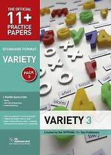 11+ Practice Papers, Variety Pack 3 GL Assessment Paperback NEW Book Free UK Shi