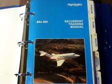 British Aerospace BAe 800 Recurrent Training Manual