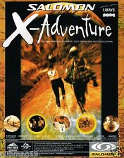 Publicité advertising 1999 Salomon X-Adventure