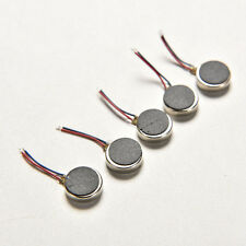5Pcs DC 3V 10mm x 2.7mm 1020 Cell Phone Coin Flat Vibrating Vibration Motor JR