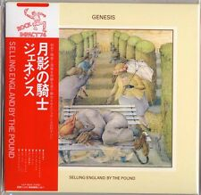 GENESIS-SELLING ENGLAND BY THE POUND-JAPAN MINI LP SHM-CD G00