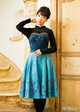 Secret Honey Disney Frozen Elsa coronation dress set LONG Japan Lolita