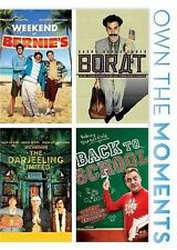Weekend at Bernie's/Borat/The Darjeeling Limited/Back to School (DVD 4-Disc Set)