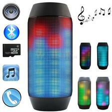 Wireless Bluetooth PULSE LED Light Stereo Speaker for Phone PC Party
