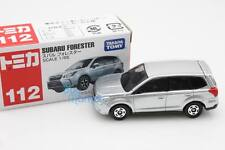 New Takara Tomica Tomy #112 Sil Subaru Forester Scale 1/65 Diecast Toy Car Japan