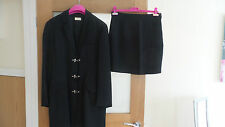 future ozbek by rifat ozbek black vintage suit size 12