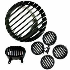 Heavy Metal Head Light Grill Indicator Grill Tail Grill Bajaj Avenger Street 150