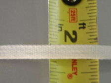 """Cotton Twill Tape 1/4"""" Beige Natural 10 yds"""