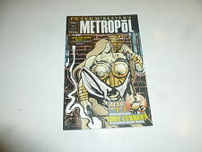 TED McKEEVER'S METROPOL Comic - Vol 1 - No 10 - Date 01/1992 - Epic Comic