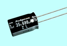 4pc Rubycon ZL 680uf 35v 105C Radial Electrolytic Capacitor Low ESR 12.5mmX20mm