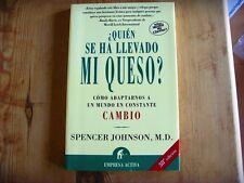 Usado - Libro ¿ QUIÉN SE HA LLEVADO MI QUESO ? -Spencer Johnson, M.D. - Usado