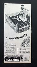 F454 - Advertising Pubblicità - 1960 - ALIMENTI AL PLASMON