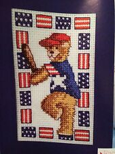 USA Stars And Stripes Fun Cross Stitch Chart