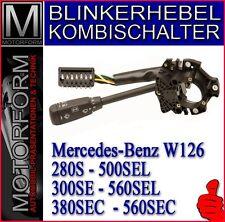 Mercedes 380SEC 500SEC 560SEC W126 Blinkerhebel Kombischalter Lenkstockhebel NEU