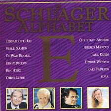 """""""DAS SCHLAGER ALPHABET -E-"""" New And Original Packed Germany Pop Songs"""