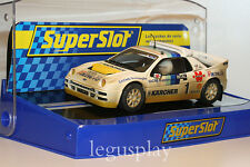 Slot SCX Scalextric Superslot Ford RS200 Nº1 Rallycross 1991 Martin Schanche