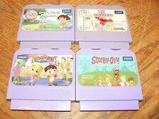 Lot of 4 V.Smile Games VTech Dora Elmos Big Discoveries Alphabet Park Scooby-Doo