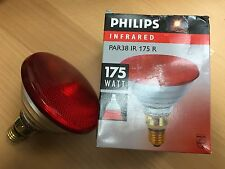 Philips PAR38 IR Red 175W 230V E27 Infrared lamp Warming lamp Infrared Spotlight