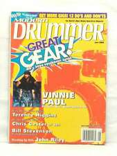 MODERN DRUMMER MAGAZINE GREAT GEAR 2004 VINNIE PAUL TERENCE HIGGINS JOHN RI
