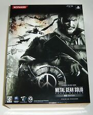 PS3 Metal Gear Solid Peace Walker HD Edition Limited Edition JAPAN GAMES