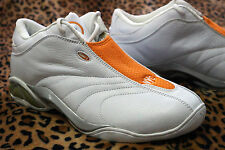 And1 Mad Game select Mid shoe white orange Latrell sprewell NYC Knicks New NEUF