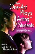 New One-Act Plays for Acting Students: A New Anthology of Complete One-Act Plays