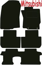 Tailored Deluxe Quality Car Mats Mitsubishi Outlander 7 Seater Manual 2013-2017