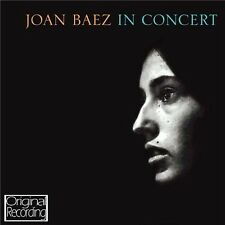 JOAN BAEZ IN CONCERT (NEW SEALED CD) ORIGINAL RECORDING