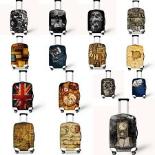 """Luggage Cover Cute Clear 20"""" 24"""" 26"""" 28"""" 30""""  Elastic Travel Suitcase Protector"""