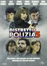 DISTRETTO DI POLIZIA - STAGIONE 05 (6 dischi) - DVD NUOVO