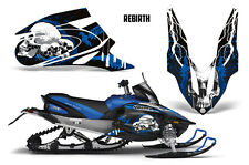 SIKSPAK Sled Wrap Yamaha Apex Snowmobile Graphics Kit Decal Wrap 06-11 REBIRTH U