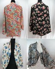 US SELLER-wholesale lot 4pc bat wing fashion kaftan vintage rose paisley kimono