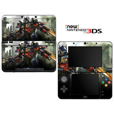 Vinyl Skin Decal Cover for Nintendo New 3DS - Transformers Optimus Prime Autobot