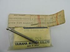 198-84331-60 NOS Yamaha Adjusting Screw AS2C AT1 GT1 HS1 HT1 JT2 LB50 LC50 S95e
