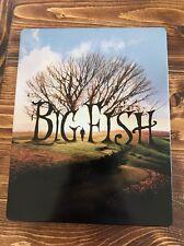Big Fish Blu-ray Steelbook Italian Exclusive Region Free English Friendly