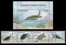 Philippines Stamps 2006 MNH Marine Turtles complete set