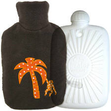 New Kids Eco Hot Water Bottle Bag With Luxury Fleece Cover Made in Germany