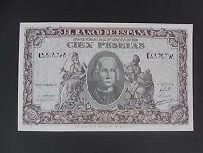 Billete 100 pesetas Año 1940 Calidad  S/C   PLANCHA