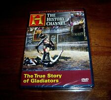 THE TRUE STORY OF GLADIATORS (HISTORY CHANNEL) NEW AND SEALED