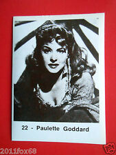 figurines actor stickers akteur figurine i divi di hollywood 22 paulette goddard