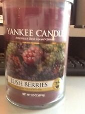 Yankee candle lush berries 623g double wicked tumbler from USA