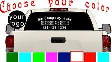 Rear Window Decal Sticker Pick up Truck