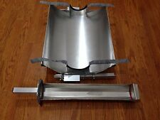 Fits RAND 4' Solar Oven/Stove Evac Glass--Selling ADJUSTABLE REFLECTOR &TRAY