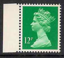 GB 1986 sg X897 12p Bright Emerald right band booklet stamp MNH