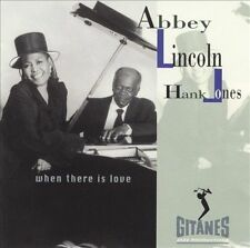 When There Is Love Abbey Lincoln, Hank Jones MUSIC CD