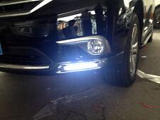 DayTime Running Light fog light lamp plating chrome for Toyota HIGHLANDER 2013
