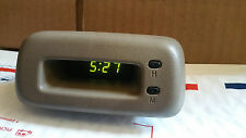 1995-1999 Toyota TERCEL / PASEO Digital Dash Clock TESTED! '95 96 97 99 - TAN