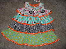 Jelly the Pug Baby Infant Girls Summer Dress Size 18M 18 Months mos Bird Flowers
