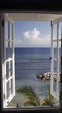 """Infrarotheizung Elegance - Glas rahmenlos, 600 Watt, Motiv """"Fenster"""""""